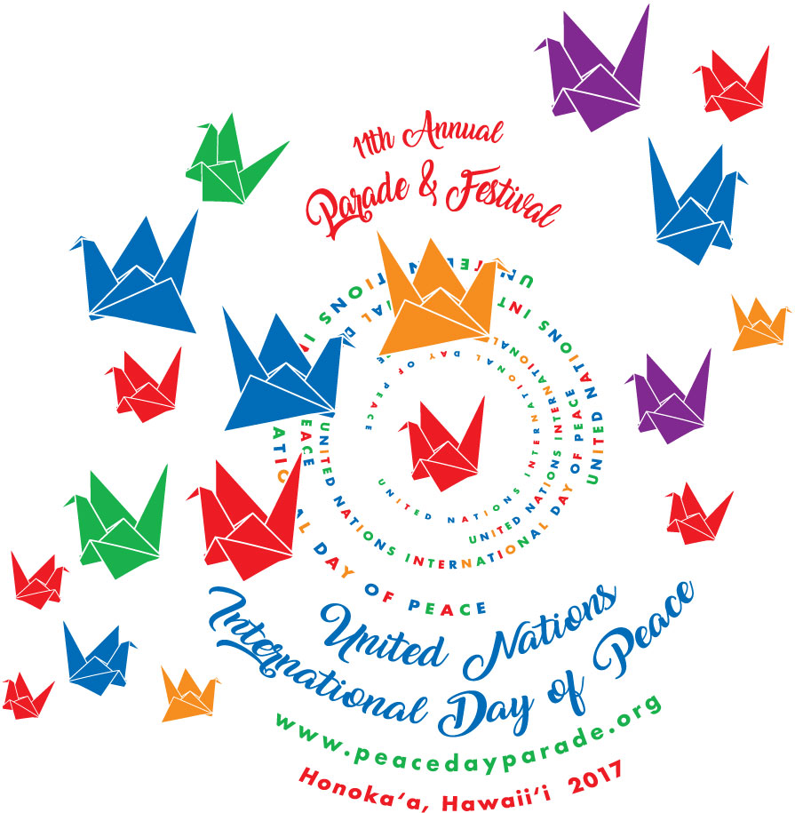 Peace Day Parade theme graphic 2017